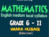 Mathematics from grade 6 to 11