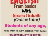 English taught from basics