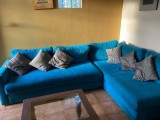 L shape tv area sofa